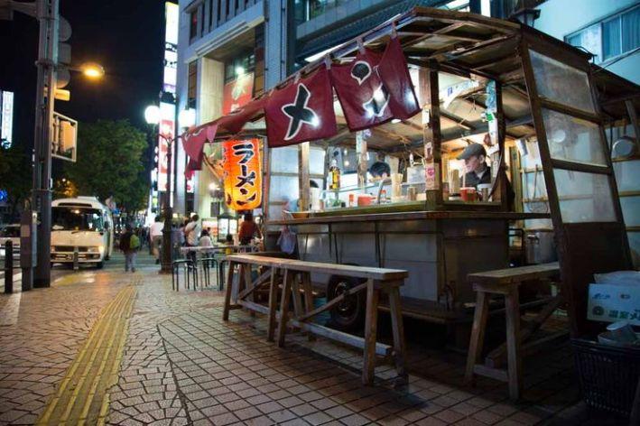 Yatai de Fukuoka.